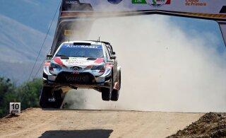 VIDEO | WRC-piloot Evans kihutab Lõuna-Eesti teedel