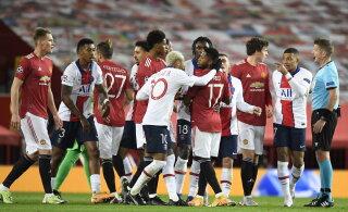 OTSEBLOGI | Sevillale neli väravat löönud Giroud tegi Meistrite liiga ajalugu, vähemusse jäänud ManU kaotas PSG-le