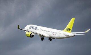 Первый полный месяц после возобновления деятельности: авиакомпания airBaltic перевезла более 60 000 пассажиров