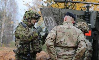 NATO väed ja Eesti esimene jalaväebrigaad viivad Adaži treeningalal Lätis läbi suure integratsiooniõppuse Furious Axe