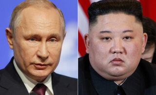 Kim Jong-un asus teele Vladivostokki kohtumisele Vladimir Putiniga