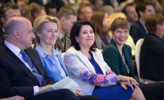 """Президент Зурабишвили в Таллинне: грузины должны преодолеть """"постсоветский синдром"""""""