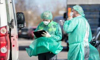 За сутки в Эстонии от коронавируса умерла пожилая женщина. Выявлен всего один новый случай заболевания