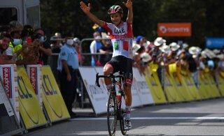 Tanel Kangert parandas Dauphine velotuuril kohta, etapp võideti uhke soolosõiduga