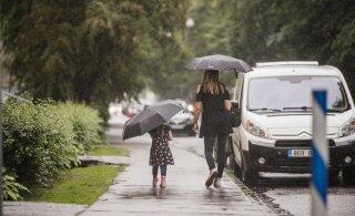 ФОТО | Льёт как из ведра! И такая погода сохранится до конца недели