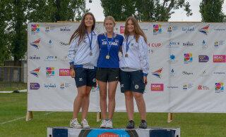 Eesti vibuspordile noorte Euroopa GP-lt kolm medalit