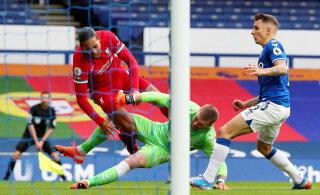Liverpooli tähtmängijale karmi vea teinud väravavaht pääses karistusest