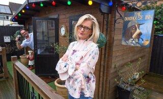 FOTOD | Kuri naine ehitas mehele koduhoovi baari, et ta enam öösiti kaasat linna otsima ei peaks minema