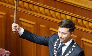 Зеленский назвал свою первую задачу на посту президента Украины