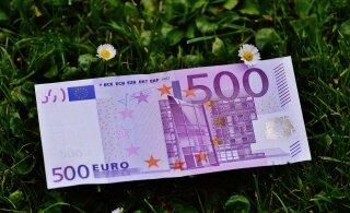 Большинство купюр в 500 евро по-прежнему находятся в обороте