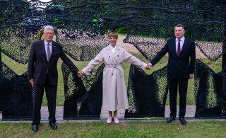 FOTOD | Kersti Kaljulaid: Balti võimas vabaduse kett andis lootust paljudele rahvastele