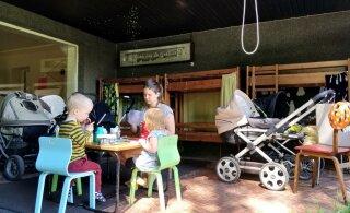 Lasteaialapsed terveks päevaks õue? Nii mängima, sööma kui ka magama? Päriselt?