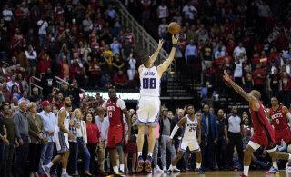 VIDEO | Serbia koondislane tabas NBA-s koos lõpusireeniga kolmese ja tõi Sacramentole magusa võidu