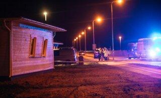 ФОТО | На стройке в Хааслава прогремел взрыв, есть пострадавший