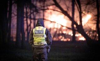 """ГЛАВНОЕ ЗА ДЕНЬ: Пожар в Копли, задержание чиновника полиции и история """"ласнамяэского расчленителя"""""""