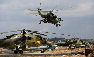 Россия создает новую вертолетную базу на севере Сирии
