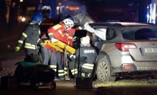Виновник аварии с тремя пострадавшими в Пирита извинился перед всеми