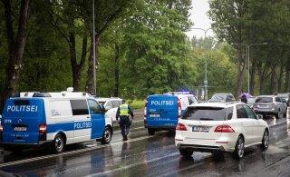 ФОТО: В Таллинне пожилого мужчину сбил автомобиль, а затем сразу еще один