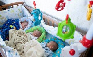 Мать таллиннских тройняшек: нам срочно нужна поддержка