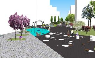 ЭСКИЗЫ: В Ласнамяэ начинается строительство променада Паэ. Смотрите, как он будет выглядеть!
