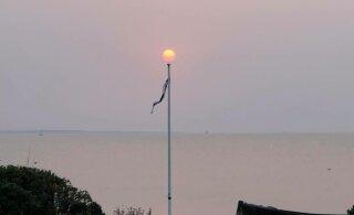 FOTOD | Mitmel pool Eestis värvus taevas roosaks
