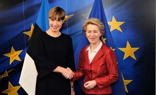 FOTOD | Riigipea kohtus Euroopa Liidu järgmiste juhtidega