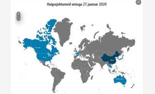 ИНТЕРАКТИВНАЯ КАРТА | В режиме реального времени! Все страны, где обнаружен новый коронавирус