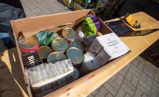На этой неделе дополнительную продуктовую помощь в Таллинне получила 231 семья