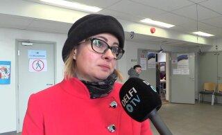 DELFI VIDEOD   Lasnamäe linnaosavanem Maria Jufereva-Skuratovski enda poolt hääletada ei saanud