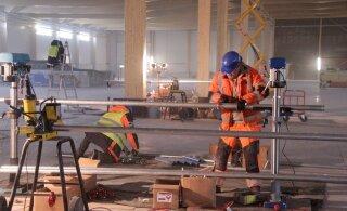 Kasvavate ehitusmahtude suurimad võitjad on ehitajad. Ehitusfirmade tööjõukulud vaid kasvavad