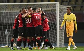 Uskumatu apsakas: Tottenham avastas euromängu eel, et Skopje staadioni väravad olid vale suurusega