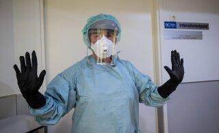 GRAAFIK | Ööpäevaga lisandus 67 positiivset koroonatesti, haiglas on 33 inimest