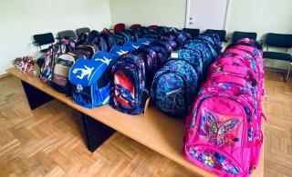 Полсотни маленьких жителей Кесклинна получили подарок к школе