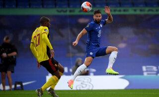 Kindla võidu saanud Chelsea möödus taas Manchester Unitedist