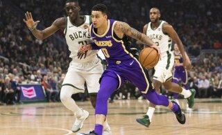 VIDEO | Milwaukee liigub jõuliselt põhiturniiri võidu suunas, läinud ööl kukutati LA Lakers