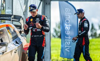 VIDEO JA FOTOD | Tänak ja Järveoja testisid uhiuut Hyundai ralliautot