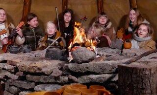 VIDEO | Nunnumeeter põhjas! Noored ja andekad muusikud Uuri külast tegid Eestile sünnipäevaks südantsoojendava laulu