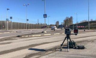 ФОТО: Полиция начала тестировать мобильные камеры замера скорости