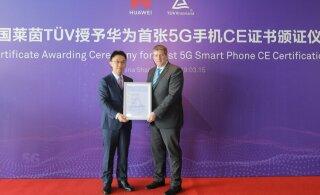 Huawei Mate X nutitelefon sai esimesena maailmas 5G CE-märgise