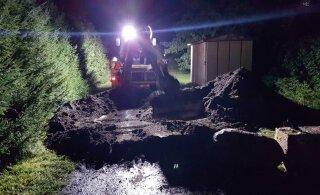 FOTOD | Viimsi vald oli sunnitud ise Heldri tee mullahunnikust lahti saama