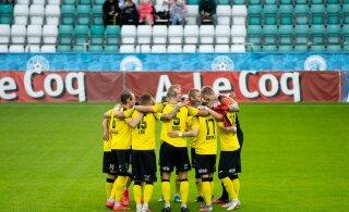 Positiivne koroonaproov lükkas jalgpalli Premium liiga avavooru mängu edasi