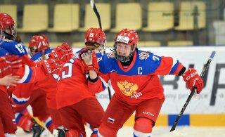 ФОТОНОВОСТЬ: Тартуская хоккеистка - капитан сборной России