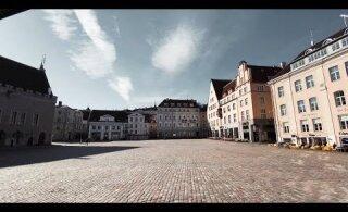 ВИДЕО | Прогулка по весеннему Старому Таллинну, где нет ни одного туриста
