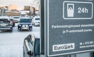 Ласнамяэская управа просит жителей района освободить у домов проезжую часть от припаркованных автомобилей
