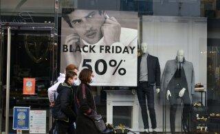 Musta Reede ostupüha tabas poodides tõsine langus, veebipoed aga lõid uusi rekordeid
