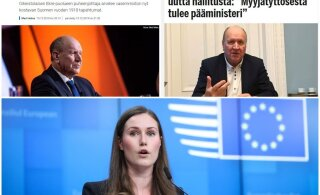 Март Хельме о Финляндии: мы видим, как продавщица стала премьером, а некоторые необразованные люди — членами правительства