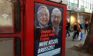 Ungari valitsus alustas Sorose ja Junckeri vastast vandenõukampaaniat