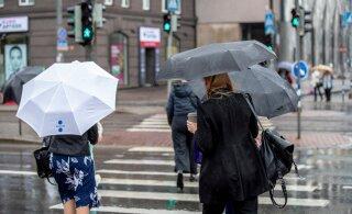 Погода в Эстонии на следующей неделе будет дождливой