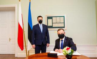 Юри Ратас поддерживает договор о расширенном военном присутствии между Польшей и США