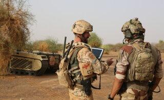 Eestlased testivad Malis kaht sõjalist mehitamata sõidukit